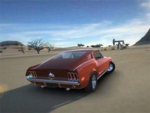 Hra na mobil Classic American Muscle Cars 2