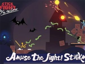 Hra na mobil Stick Fight: The Game