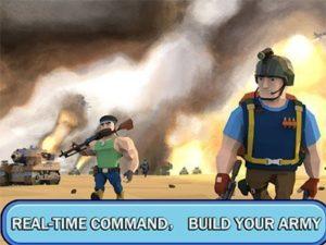 Hra na mobil Velitel ve válce: Hra na mobil online