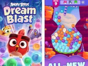 Hra na mobil Angry Birds Dream Blast