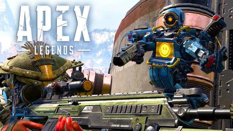 Apex Legends hra - battle royale