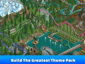 Hra na mobil RollerCoaster Tycoon Classic