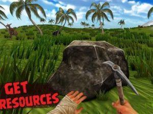 Hra na mobil Island is home 2