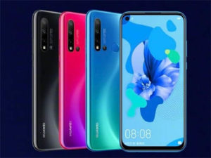 Huawei nova 5, nova 5 pro a nova 5i