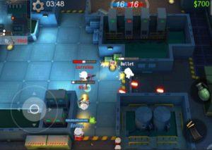 Hra na mobil Bullet legion