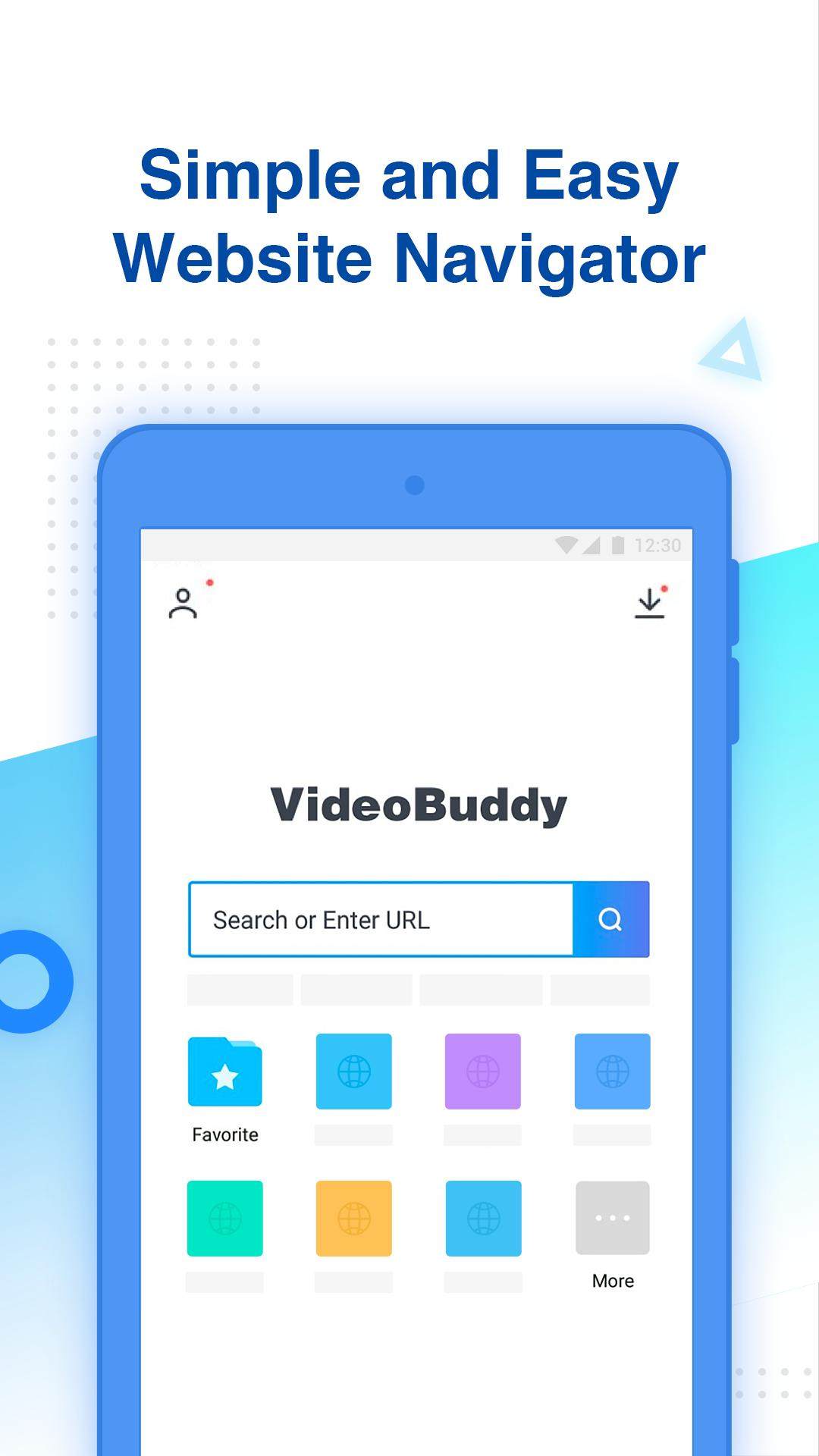 Aplikace na mobil VideoBuddy