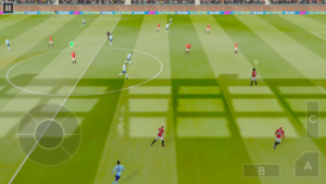 Hra na mobil Dream League Soccer 2020