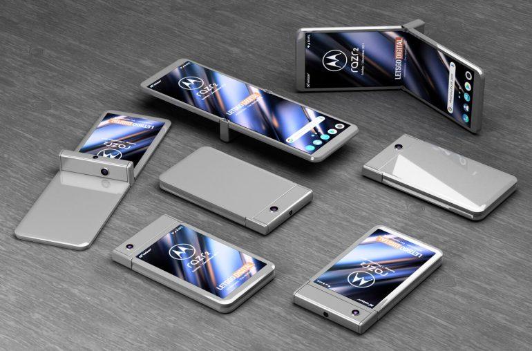 Motorola RAZR 2020 modulární telefon