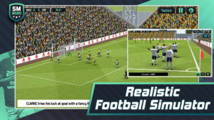 Hra na mobil Soccer Manager 2020