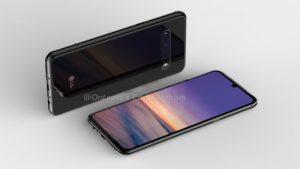LG G9 na renderech se čtyřmi senzory fotoaparátu