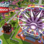 RollerCoaster Tycoon s tématem Valentýna