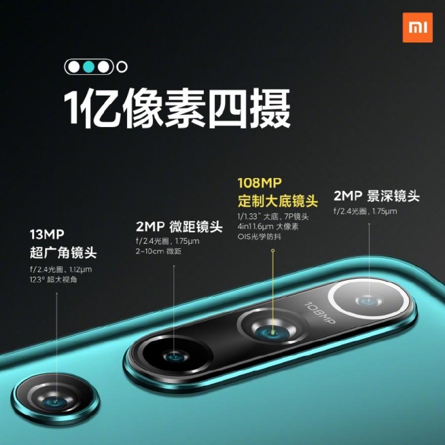 Xiaomi Mi 10 - fotoaparát