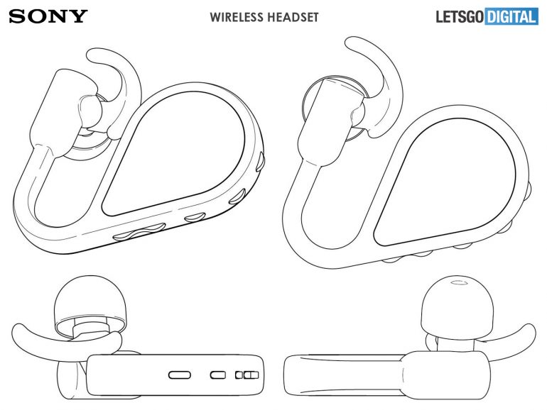 Sony Bluetooth sluchátka