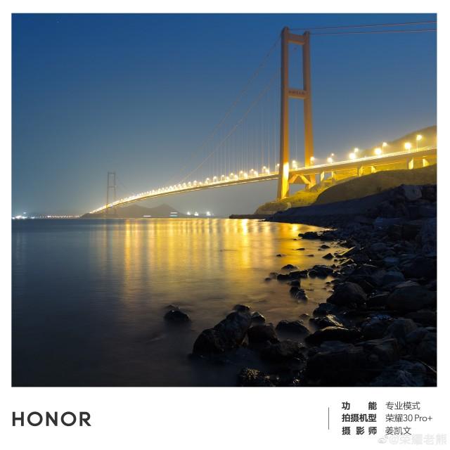 Honor 30 - za nízkého osvětlení