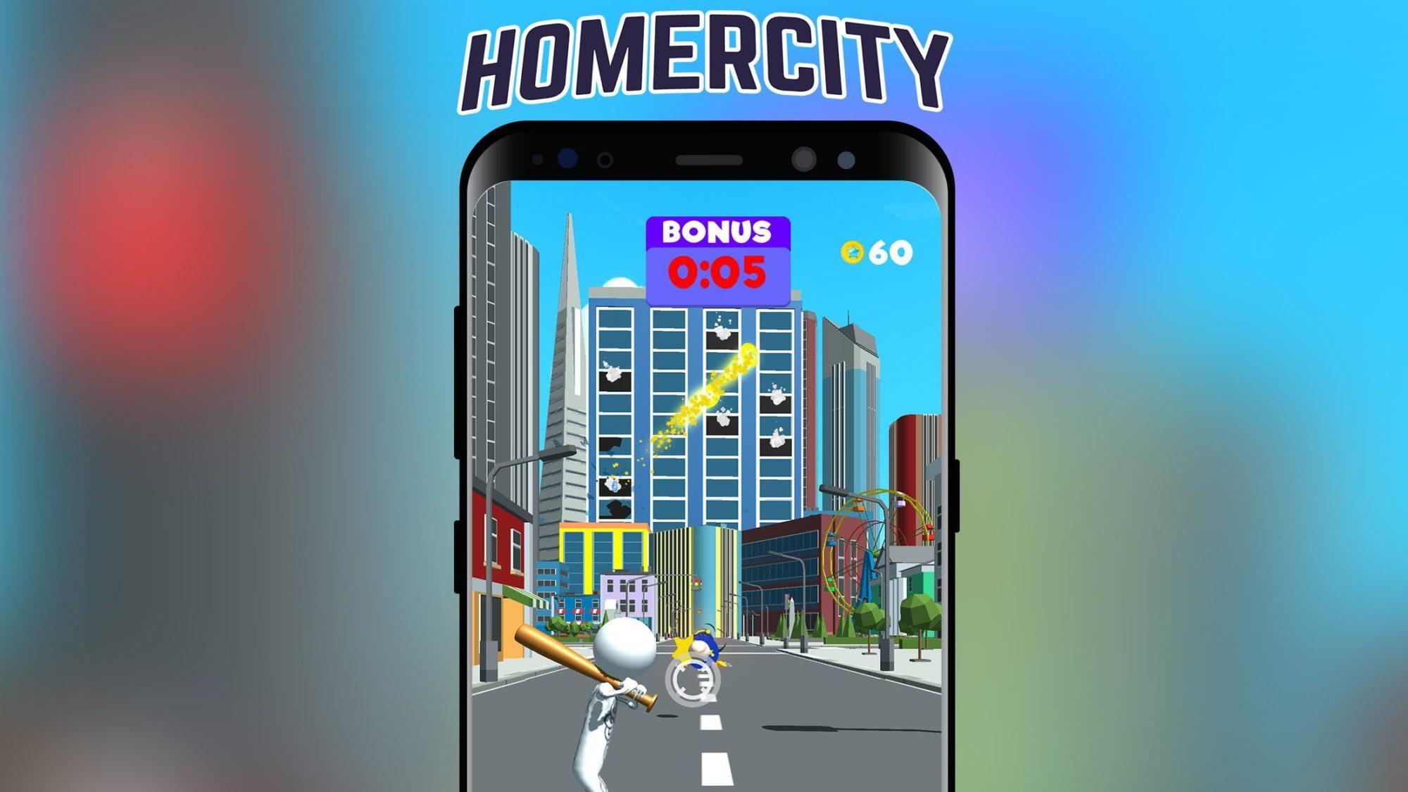 Hra na mobil Homer City