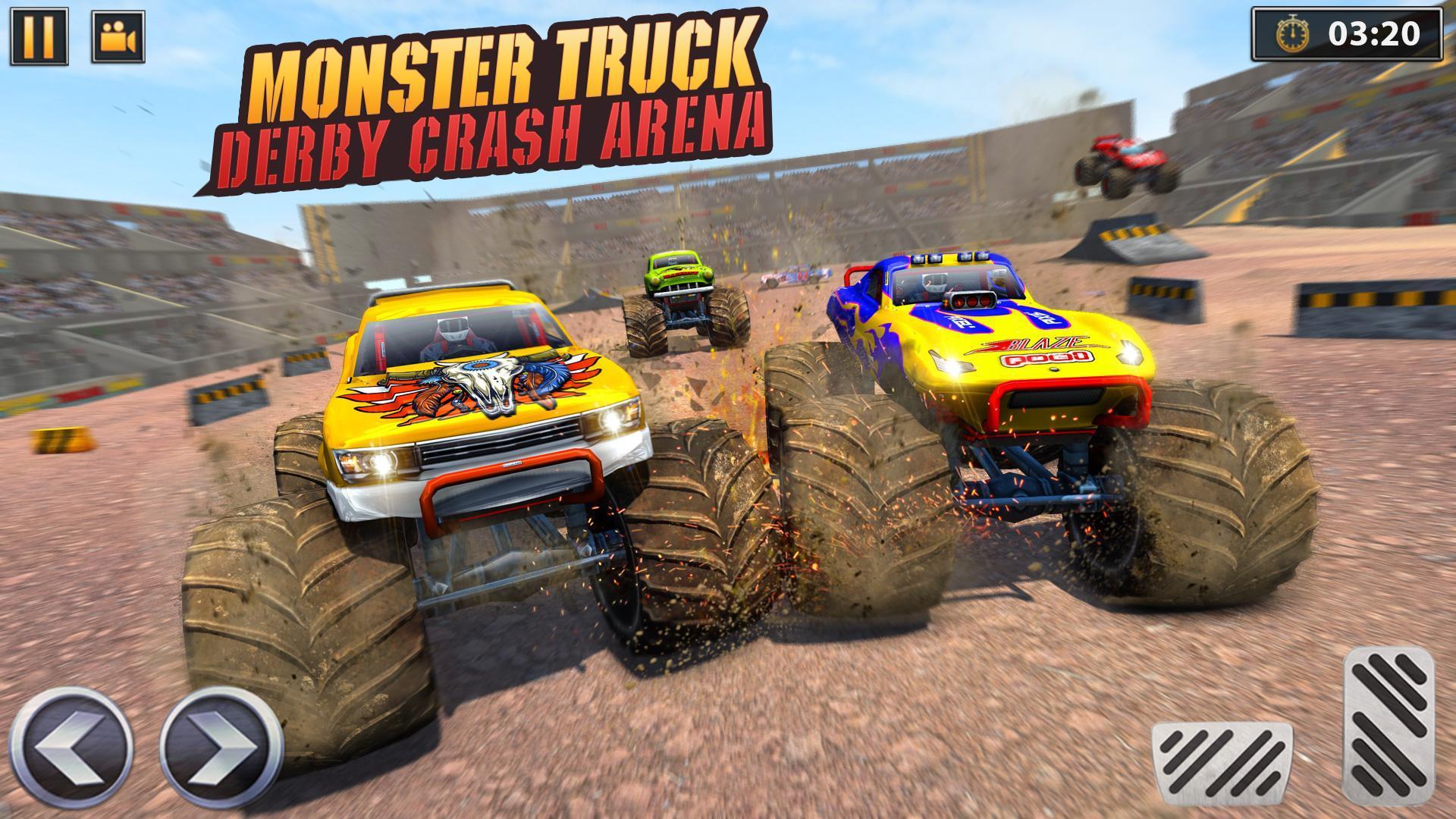 Hra Real Monster Truck Demolition Derby Crash Stunts