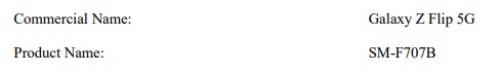 Galaxy Z Flio 5G