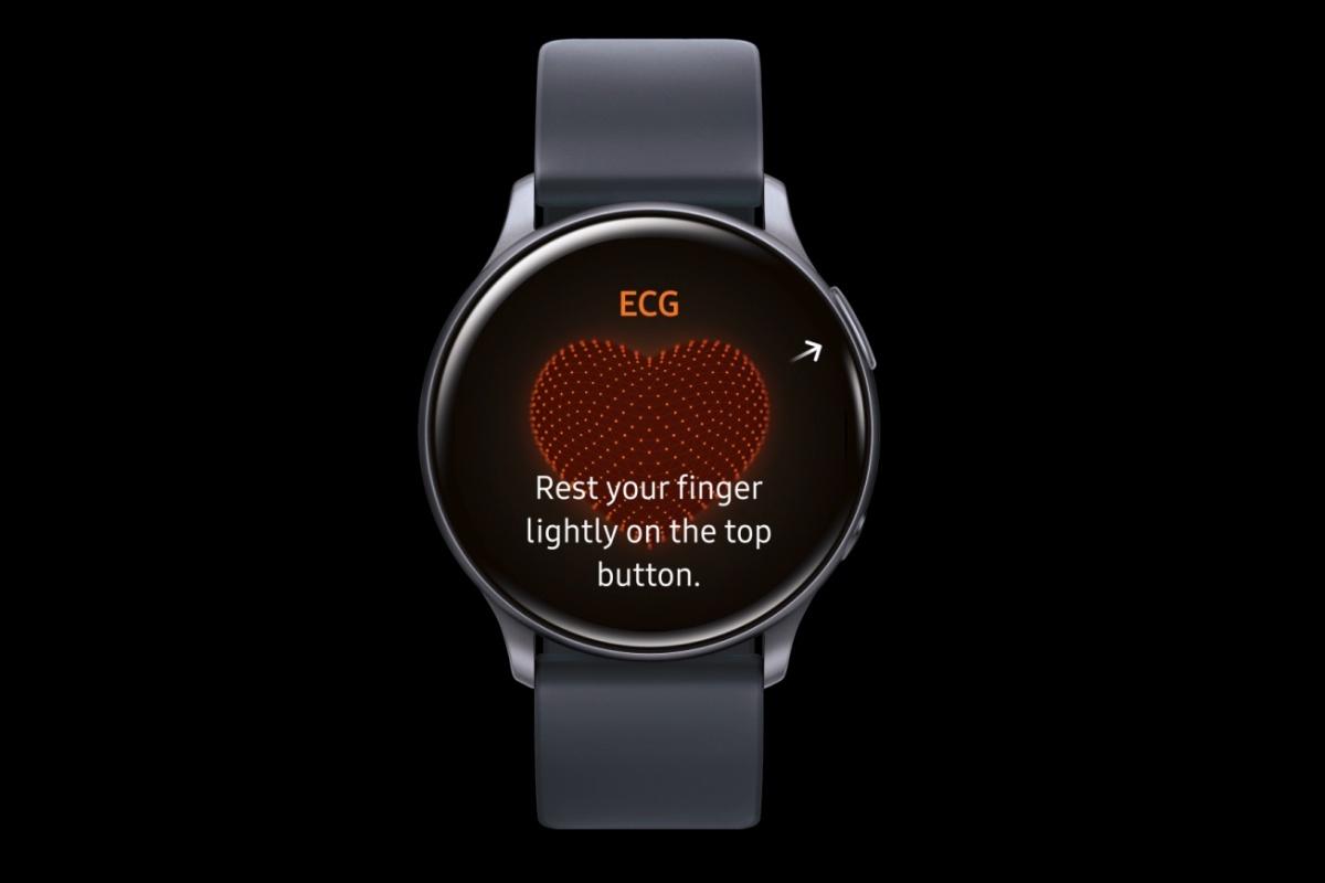 Galaxy Watch Active 2 ECG