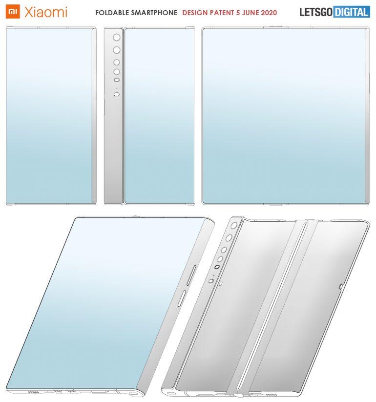Xiaomi skládaný telefon
