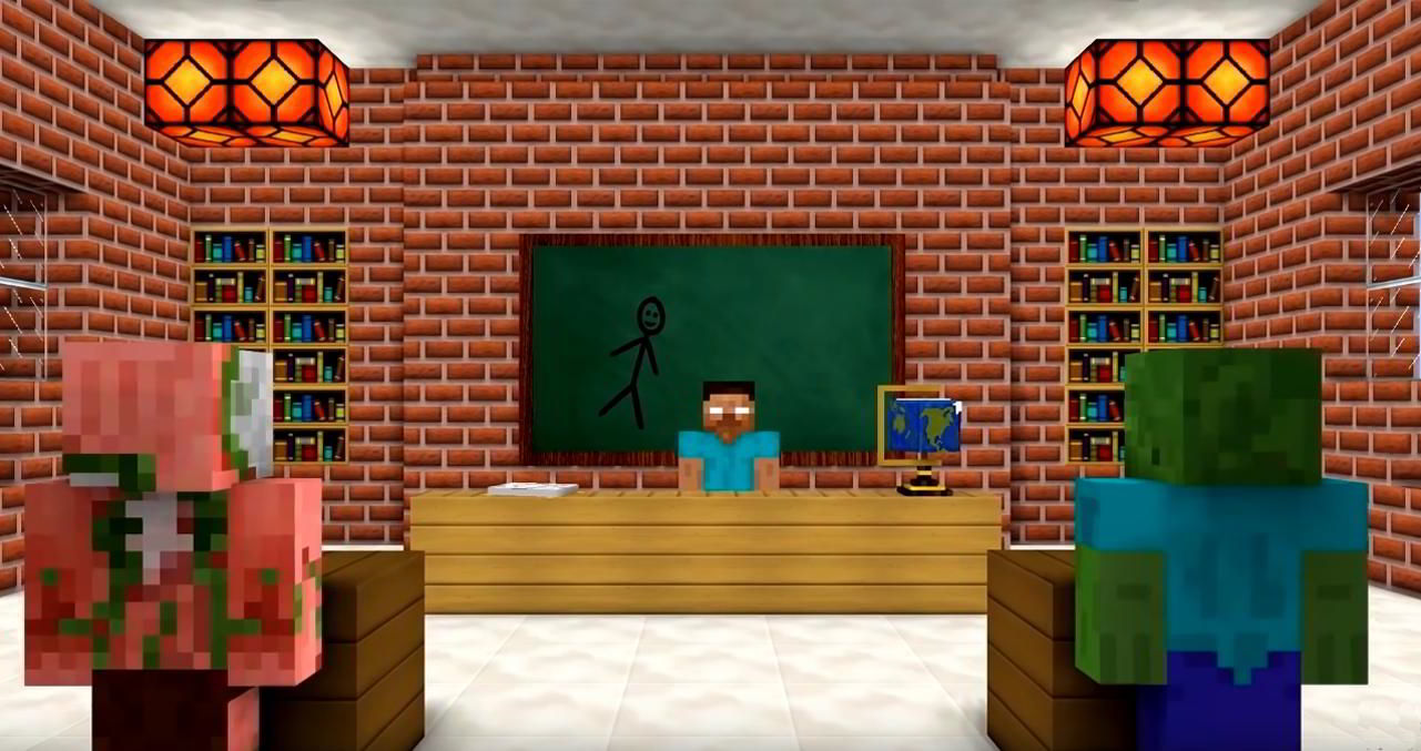 Hra na PC Monster School for Minecraft