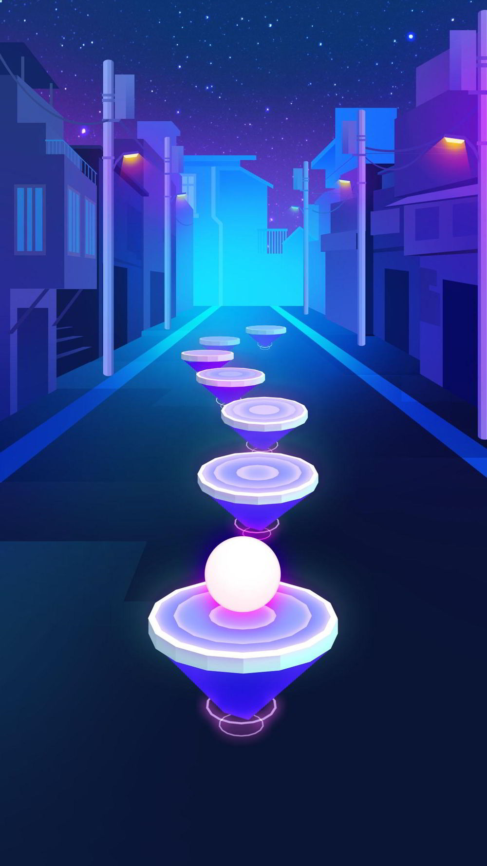 Hra na mobil Hop Ball 3D