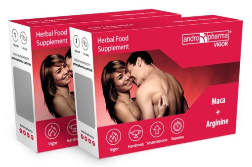 Andropharma Vigor Libido, herbal booster supplement, o increase men's sexual desire
