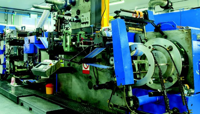 Offset Printing Press Lubrication