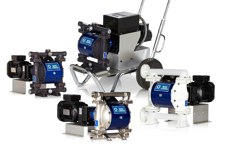 GRACO Electric Diaphragm Pumps
