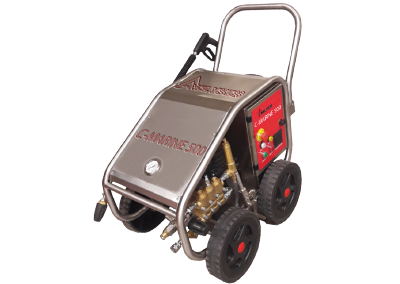 C-Marine 500 High Pressure Washer Cleaning
