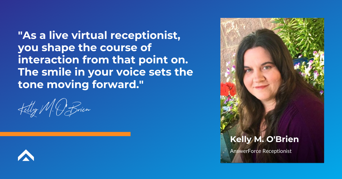 Virtual receptionist_Kelly quote