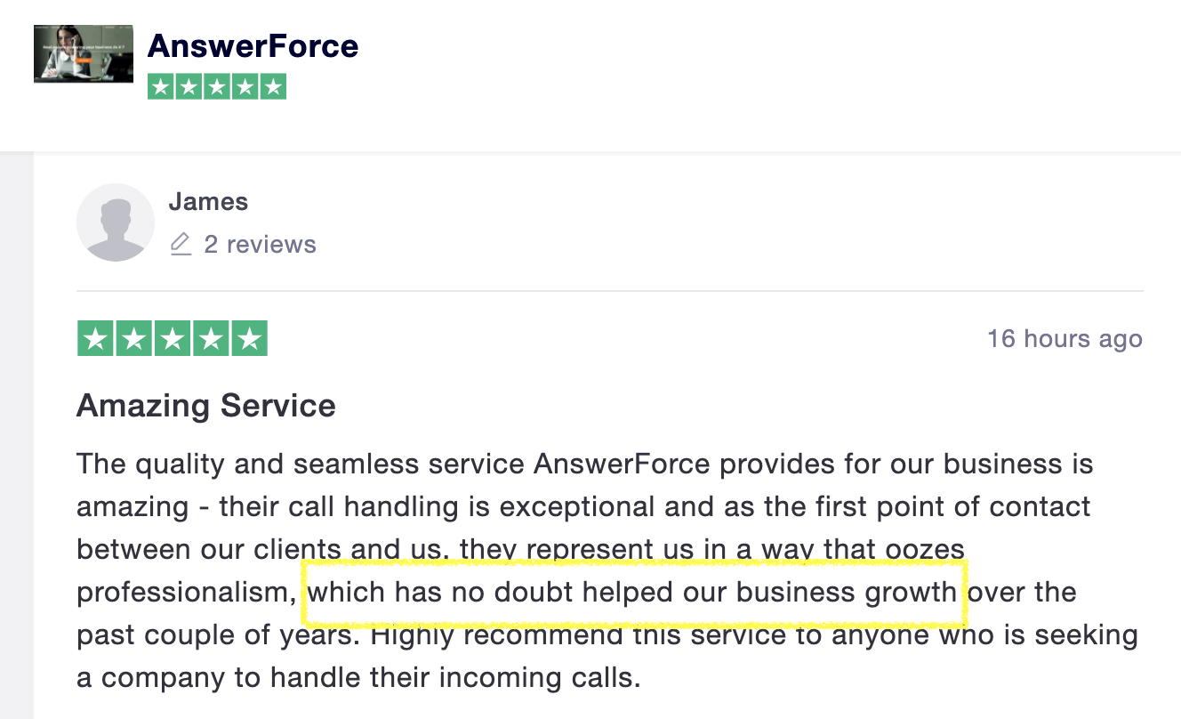 AnswerForce review