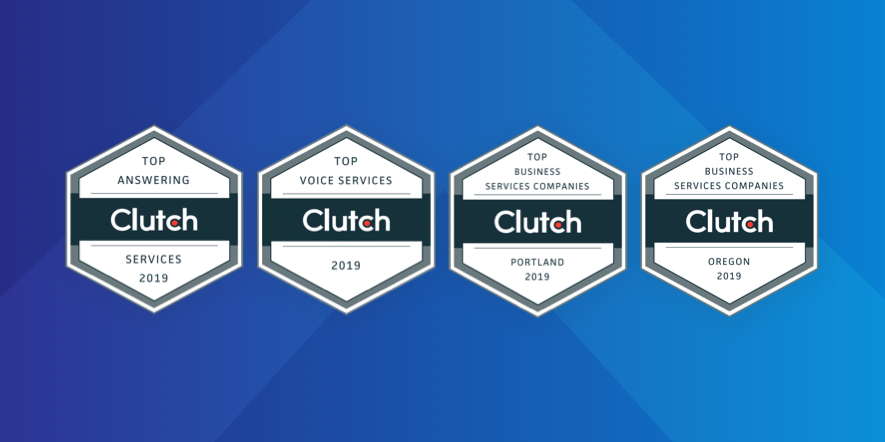 Four Badges from Clutch