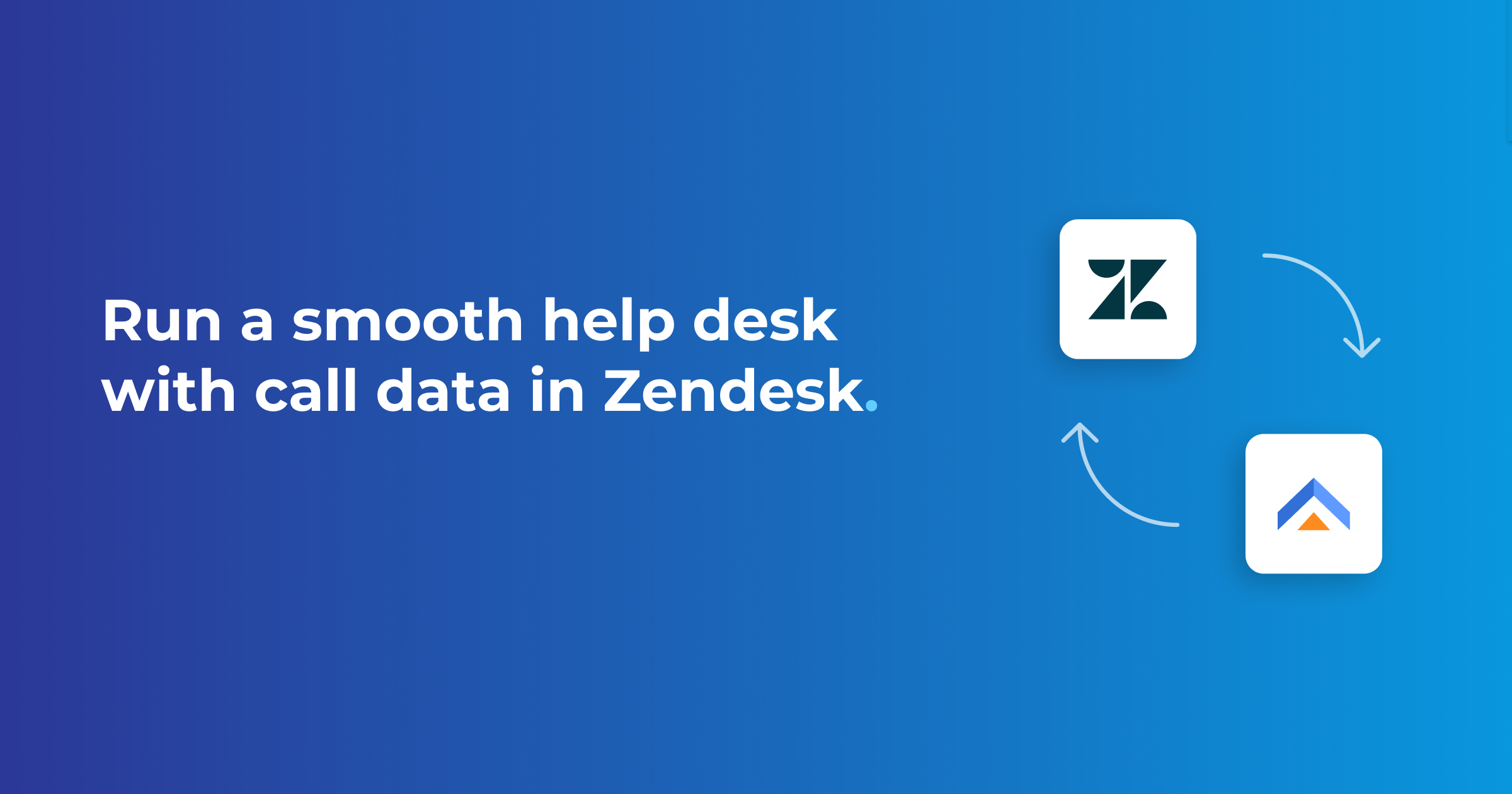 Zendesk integration: sync call and chat data to your help desk