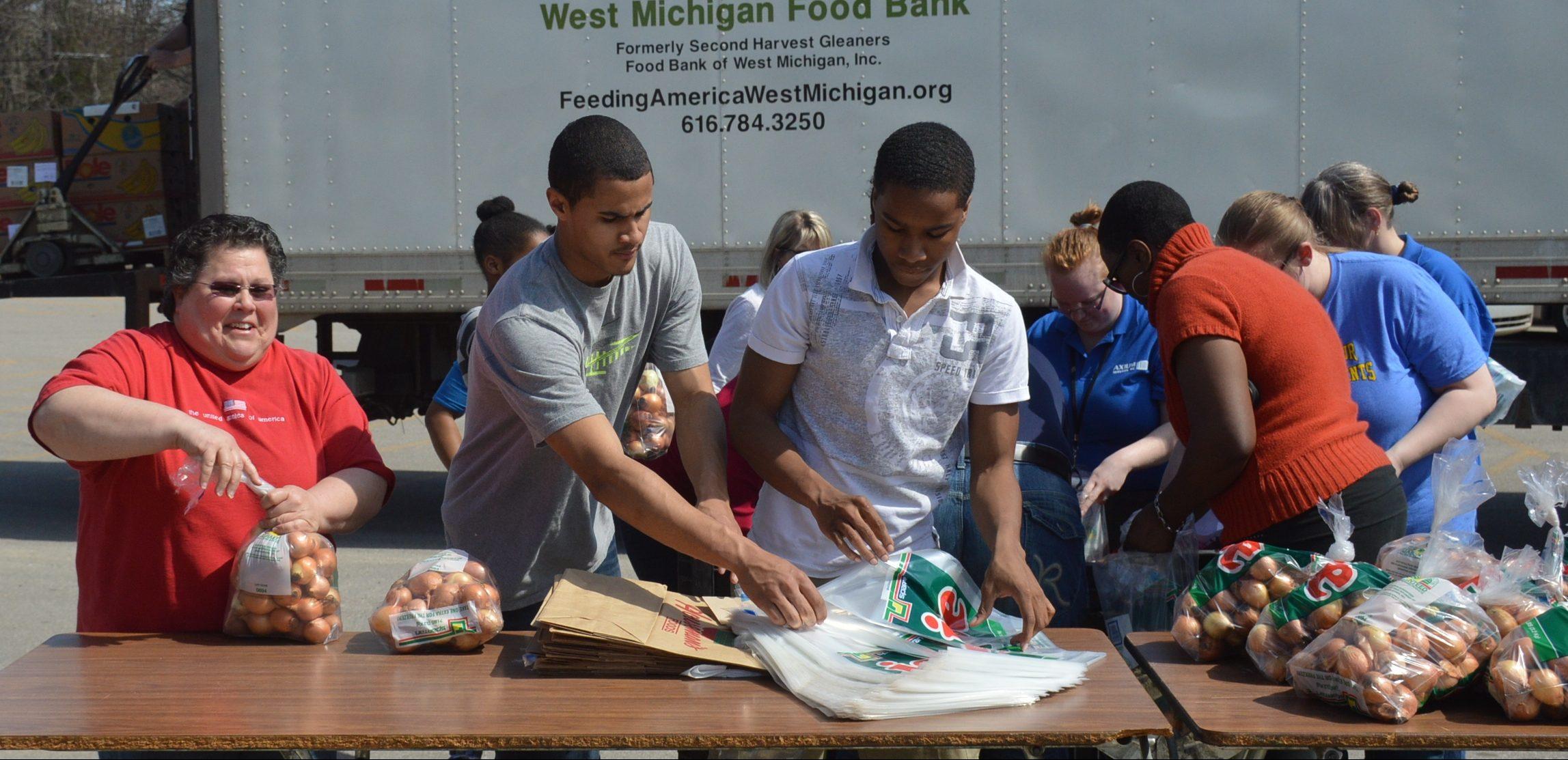 West Michigan Food Bank: helping neighbors achieve a fresh start