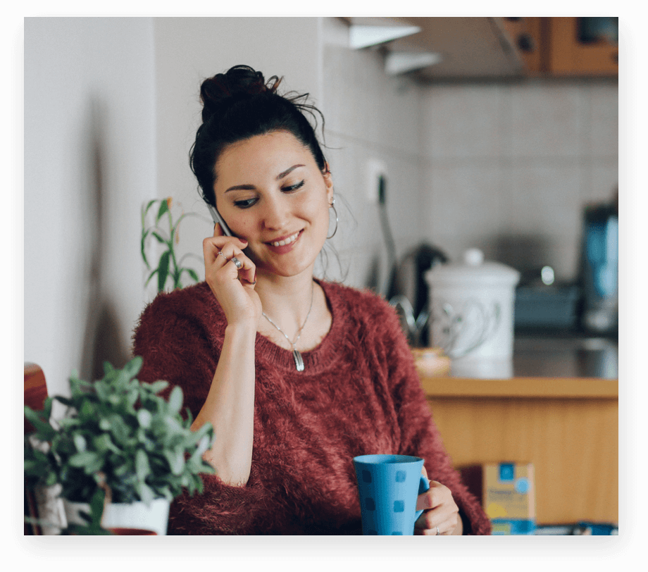 customer calling