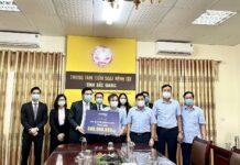 Danko Group hỗ trợ tỉnh Bắc Giang trong công tác phòng chống dịch Covid -19