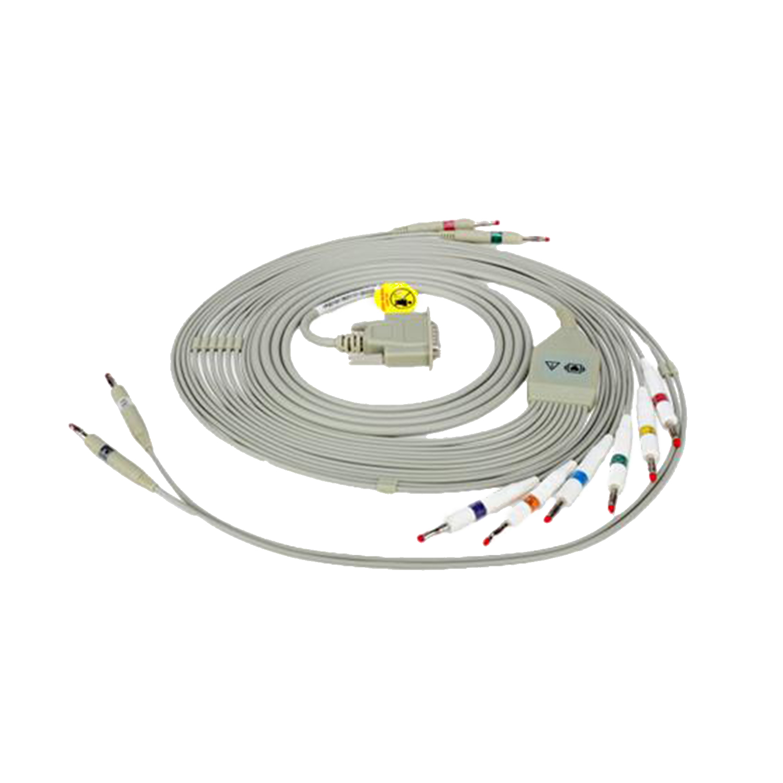 12 Lead ECG Cable for single channel Avante True ECG-1