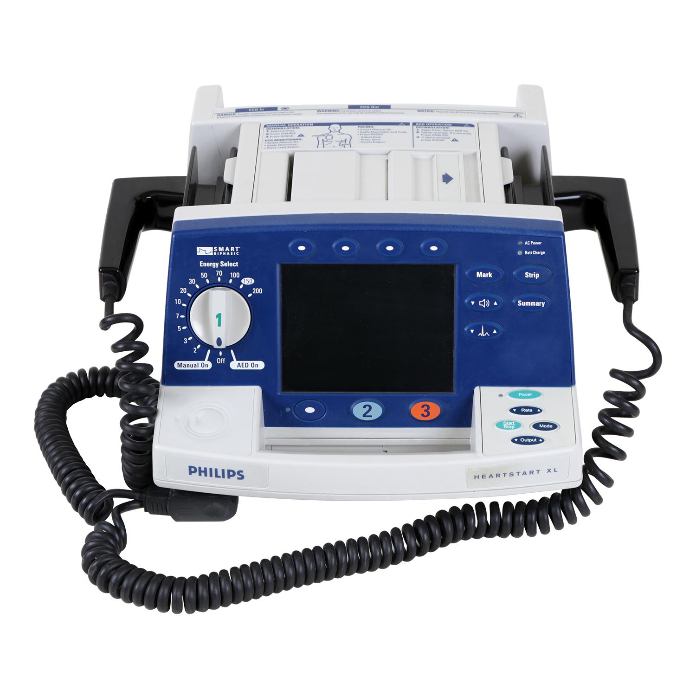 Philips Heartstart XL Biphasic Defibrillator with ECG Monitoring