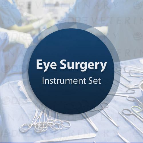 Standard Veterinary Eye Set - Miltex