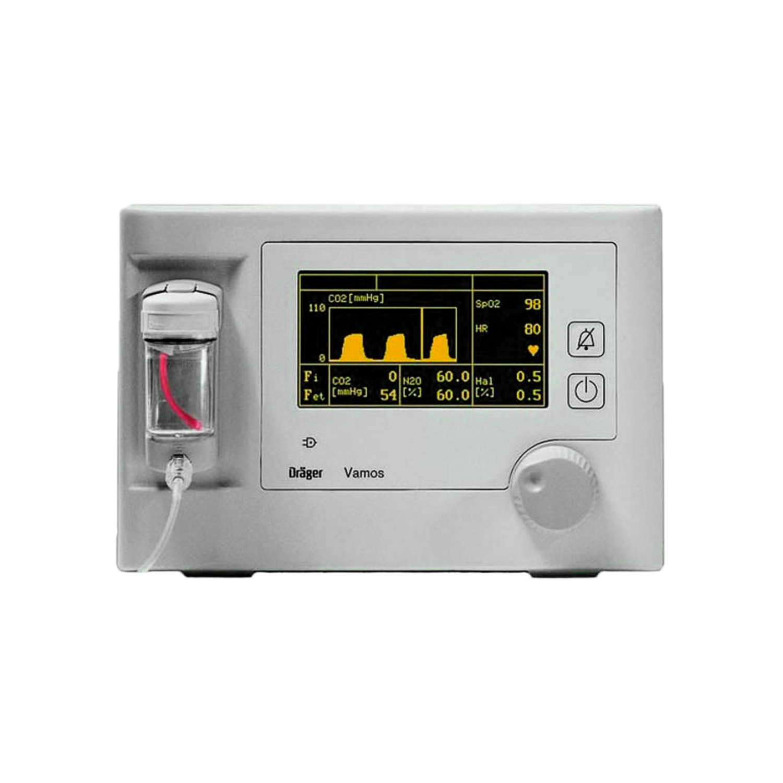 Drager Vamos Plus Anesthetic Gas Analyser