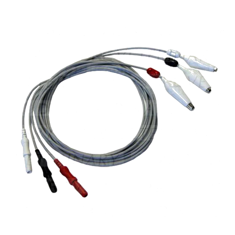 3-Lead ECG Alligator Clip Leadwire Set (for Vet Use)