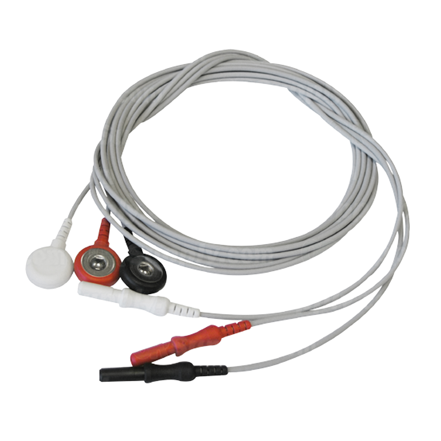 3-Lead ECG Snap Set Leadwires