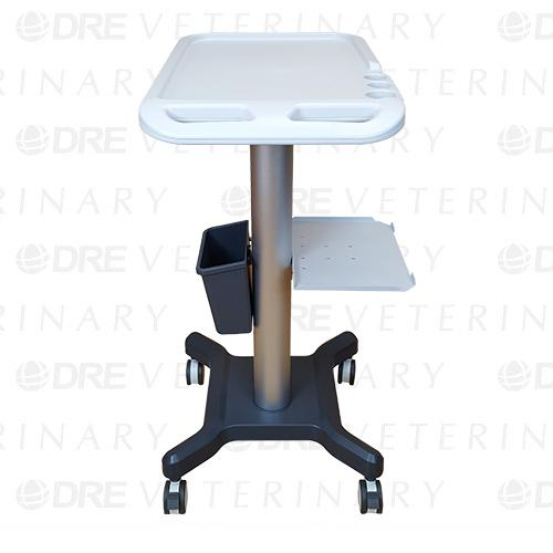 Medical Mobile Trolley cart With Shelf for Portable Ultrasound - 34 inches
