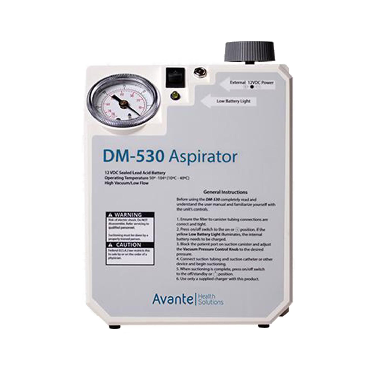Avante DM-530 Veterinary Portable Aspirator with Battery Backup