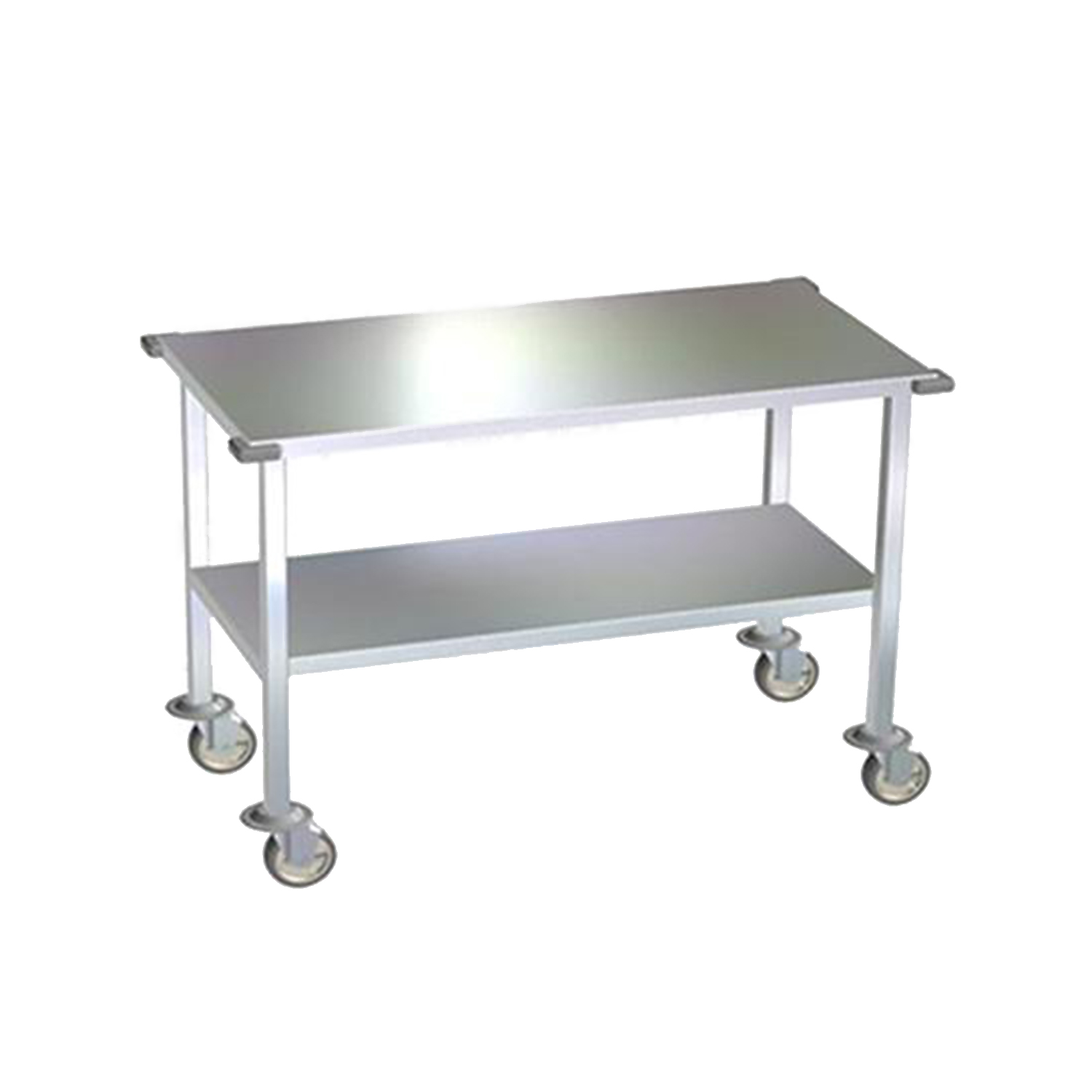 Avante Stainless Steel Mobile Gurney and Supply Transport Table