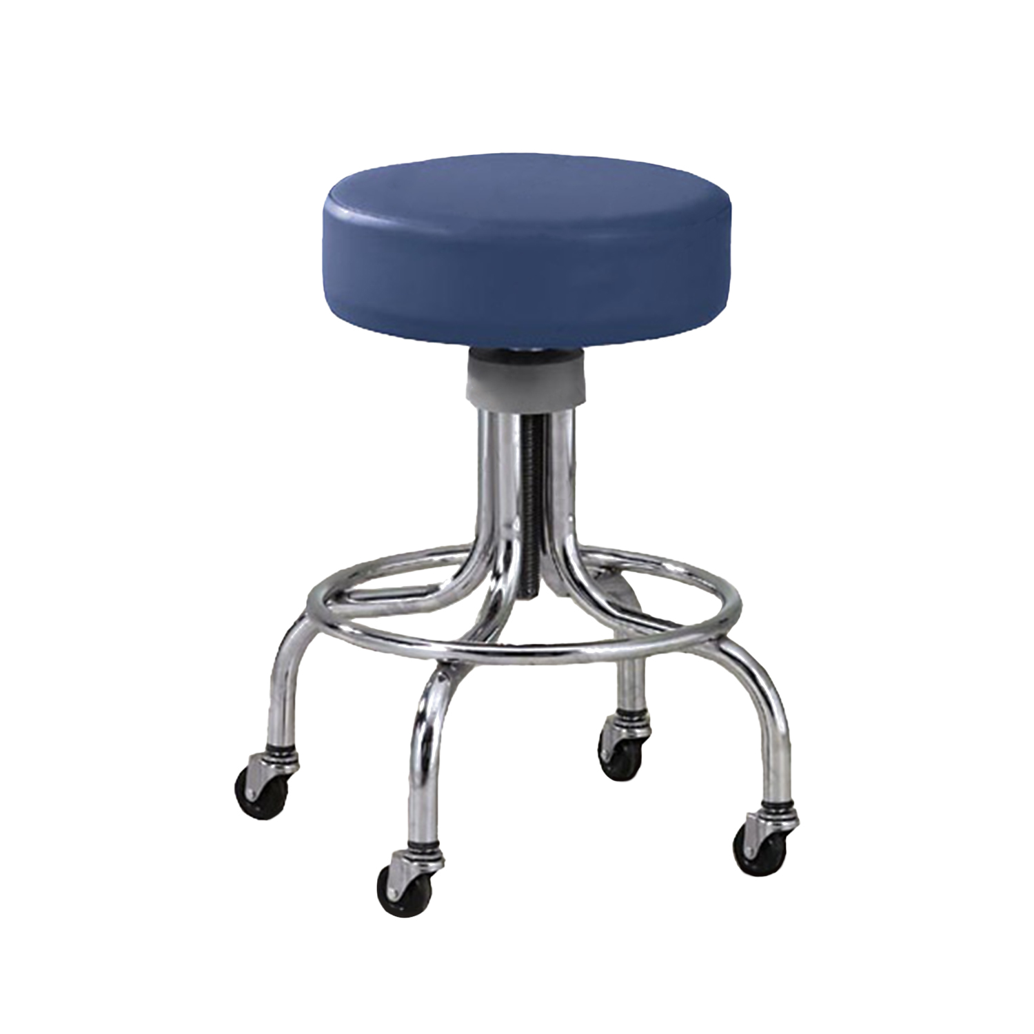 Extra Tall Chrome Base Stool
