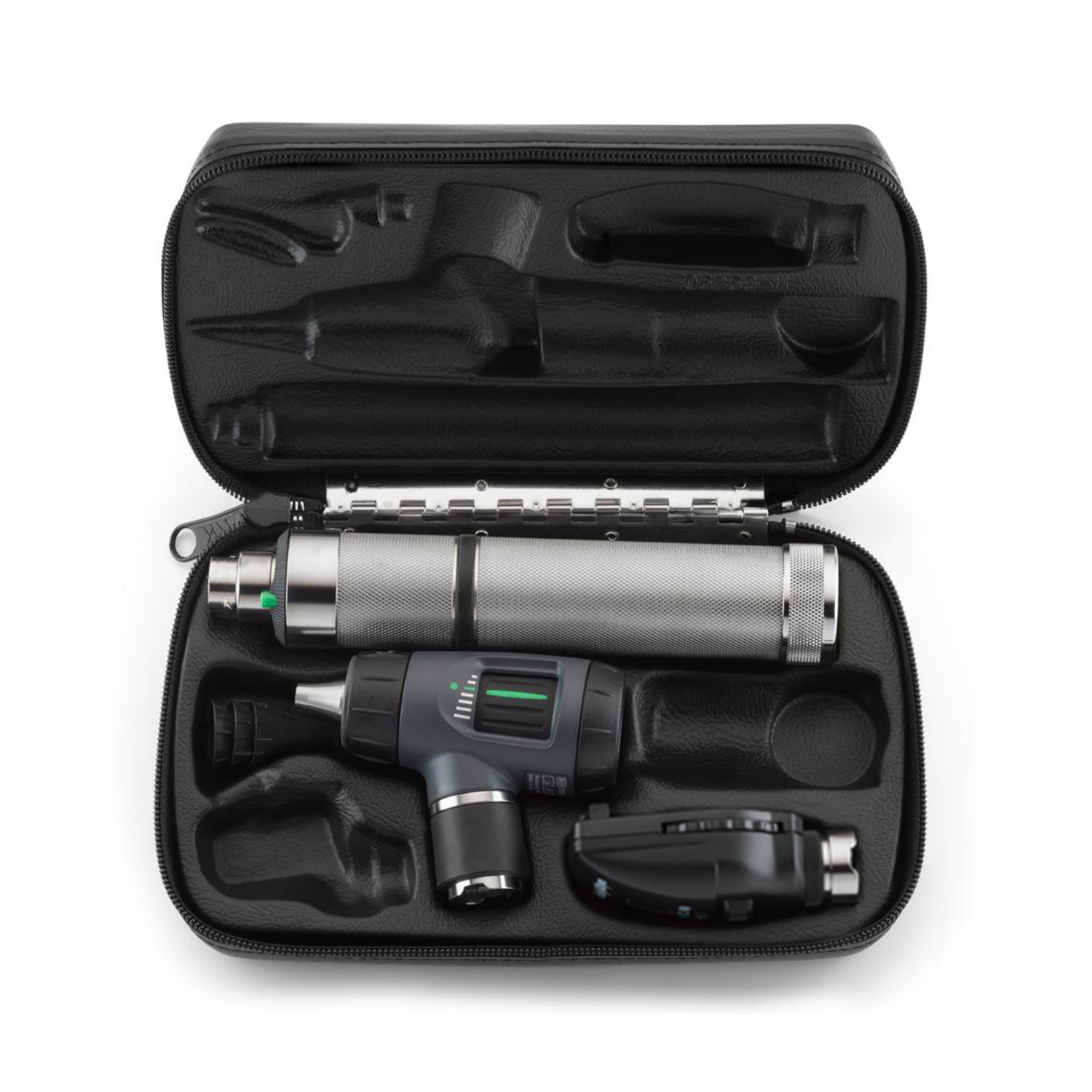 Coaxial Ophthal, MacroView Otoscope, Rechargeable Nickel-Cadmium Handle, Hard Case