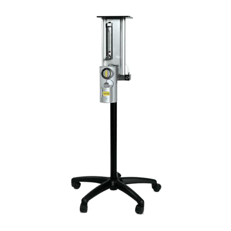 Compact NRB Veterinary Anesthesia Machine (MRI Capability)