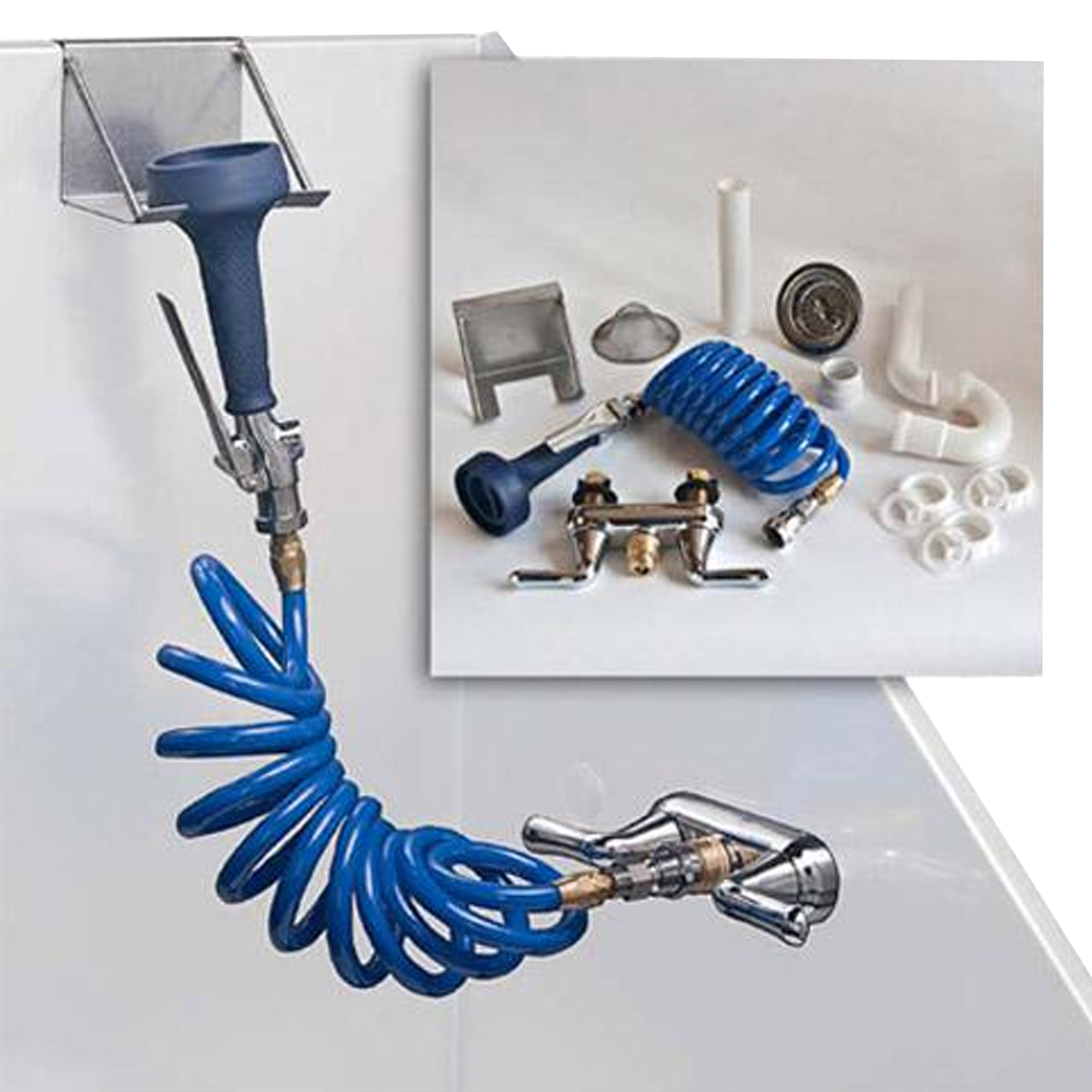 Complete Plumbing Kit for Bathing Tubs