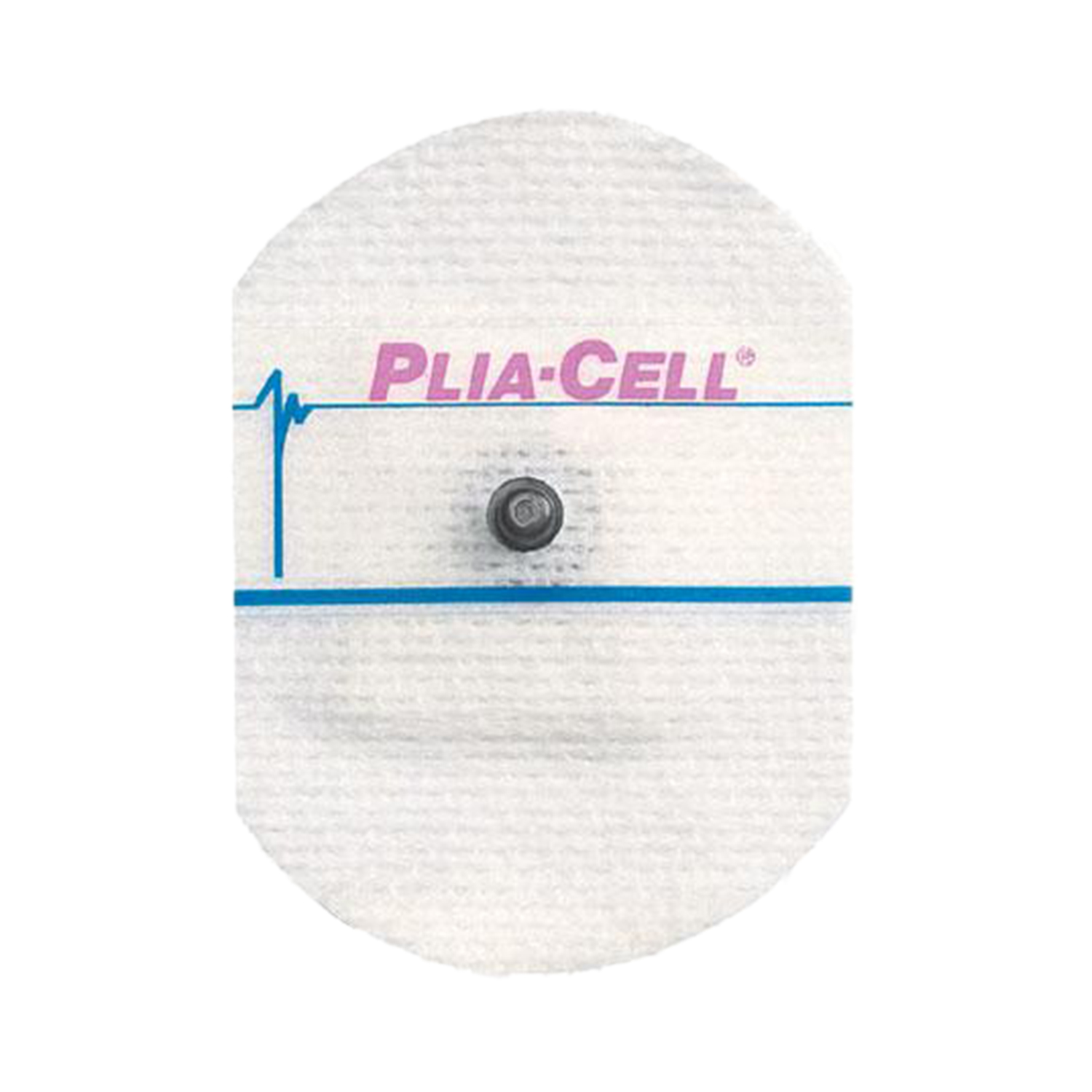 ConMed Adult Cloth ClearSite® Conductive Adhesive ECG Electrodes - Plia-Cell®